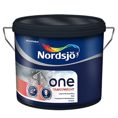 Nordsjö One transparent